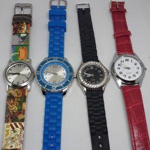 4 working watches